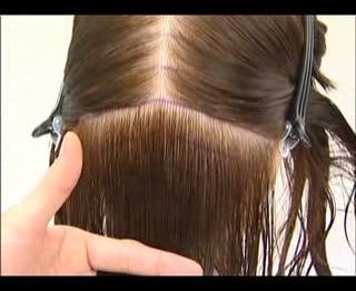 波波头剪法 波波头步骤 波波头烫发 波波头修剪 波波头发型 美发造型